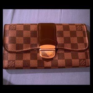 Authentic Louis Vuitton Large Wallet